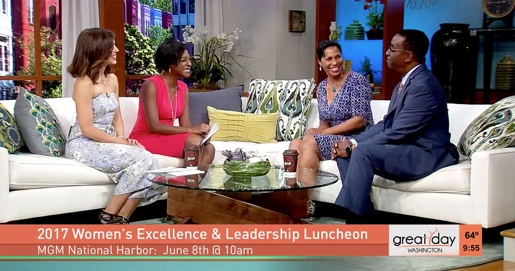 Prince George's Women's Excellence & Leadership Luncheon Interview WUSA 9 (Washington, DC)